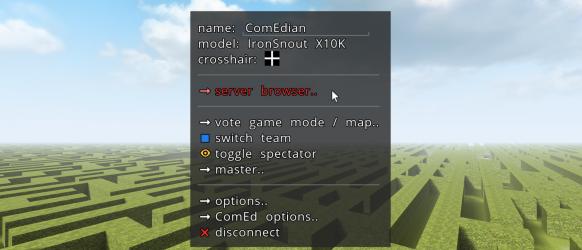 ComEd v0.1 Screenshot 1